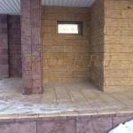 Фасадная панель «Валаамский камень»