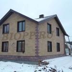 Фасадная панель-вилка от БИОП «Ростовский камень»