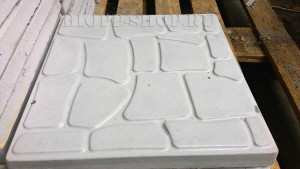 Тротуарная плитка 400х400 «Галька»