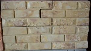 Фасадная панель-вилка «Ростовский камень гладкая»