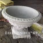 Бетонный вазон «Римский» от производителя БИОП