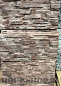 Фасадная панель «Скалистая гора»