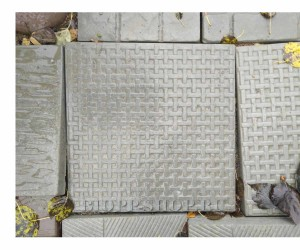 Тротуарная плитка 400х400 «Циновка»