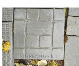 Тротуарная плитка «Малый прямой кирпич» 300x300