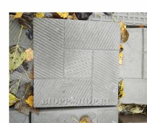 Тротуарная плитка «Насечка» 300x300