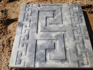 Тротуарная плитка 300х300 «Протектор»