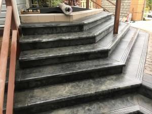 Ступени для лестниц из бетона